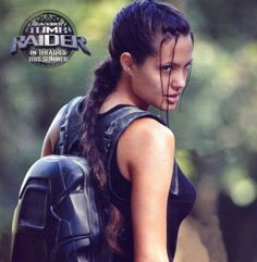 Angelina made such a perfect, hot Lara Croft. Such a shame the movies stink.