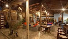 d'Omah Hotel Yogyakarta. Traditional Javanese architecture and furniture - a gorgeous place to stay when visiting Central Java.