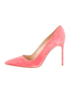 Coral Suede Manolo Blahnik BB Suede Pumps #WhatToWear #EasterBrunch