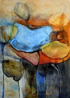 """Angela Fusenig, """"Zusammen"""" Mit einem Klick auf 'Als Kunstkarte versenden' versenden Sie kostenlos dieses Werk Ihren Freunden und Bekannten."""
