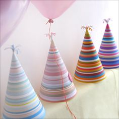 Free download - make cute party hats