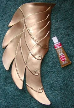Instructions to make foam armor for costumes