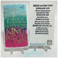 This is a gospel tract I made. #handmadetract #handmadetracts #gospeltract #handmadecard #handmadecards #stamping #paperblessings3
