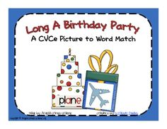 This Long Vowel A CVCe Picture to Word Sort gives your students a chance to practice reading words with Long Vowel A CVCe patterns and matching the. Vowel Activities, Word Work Activities, Reading Activities, Phonics Words, Cvc Words, Reading Words, Guided Reading, First Grade Lessons, Reading Posters