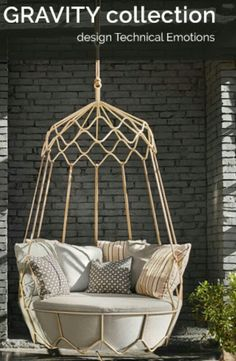 Gravity Swing Sofa By Roberti Rattan: Total Relax @Archiproducts Newsletter  17thFeb2016