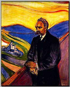 Edvard Munch, Friedrich Nietzsche, 1906 Nice paintings from http://www.paintingsframe.com/