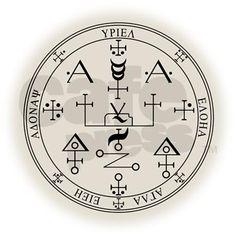 Seal of Archangel Uriel Earrings by jayfrench