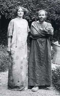 Emilie Flöge and Gustave Klimt