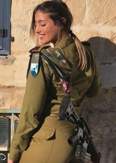 Amazing WTF Facts: Beautiful women in Israel Defense Forces - IDF Army Girls - Israel Military Women - Israeli Female Soldiers Idf Women, Military Women, Israeli Female Soldiers, Mädchen In Uniform, Israeli Girls, Female Pilot, Military Girl, Girls Uniforms, Beautiful Women