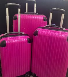 Samsonite Luggage Fiero HS 3 Piece Nested Set (One size, Magenta ...