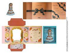 Quirky Artist Loft: Free Papercraft: Mini Blythe Boxes