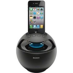 Sony Portable Portable Speaker Dock for iPhone iPad iPod Sony, Ipod Speakers, Ipod Dock, Latest Gadgets, Docking Station, Black Friday Deals, Home Entertainment, Iphone, Cool Gifts