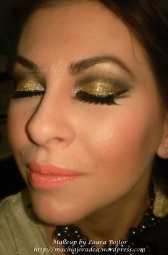 Glam rock golden look http://www.makeupbee.com/look.php?look_id=63817