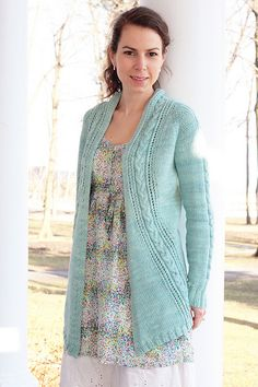 Ravelry: French Braid Cardigan pattern by Tanis Lavallee