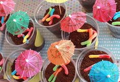 Ideas para los dulces de una fiesta Peppa Pig, en blog.fiestafacil.com / Ideas for Peppa Pig party desserts, in blog.fiestafacil.com
