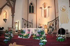 liturgical decorating for easter sunday | Decorating the Church