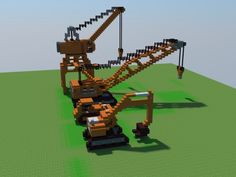 Construction machinery 1.8.7 Minecraft Project