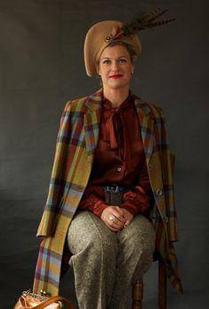 Goodwood Revival 2013 Womens Fashions  #vintagefashion #womaninpants #vintagetrousers