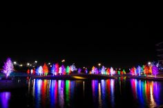 8 places to see lights around Dallas