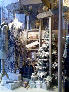 Nouveau Riche, Prestatyn - Christmas 2015 window