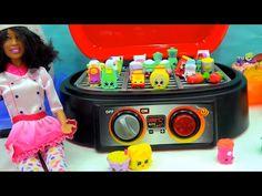 Toys Fun Land: Barbie Cooks Chef Club Season & Shopkins on Gril B...