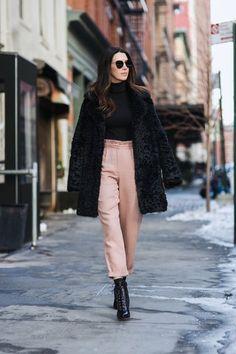 Pink Paperbag Pants