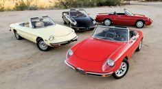 Along Came A Spider: Alfa Romeo's Beloved Open-Air Sports Car Turns 50 - I had the red 1 it was basically a daily fixer. Electrical system was horrifying to a Teenager I really got my troubleshooting chops on this model car
