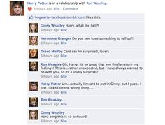 Harry Potter Facebook conversations