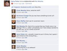 Harry Potter Facebook conversations