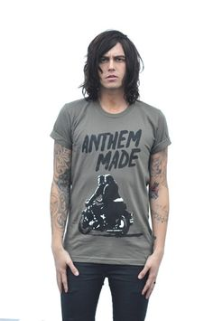 Guys' Easy Rider Anthem Made, Sleeping With Sirens, Kellin Quinn, Easy Rider, Black Veil Brides, Band Merch, Pure Beauty, Music Bands, Handsome