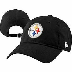 a07469e67 Ladies, nobody will forget how much you love the Steelers with this  Pittsburgh Steelers Ladies Essential Adjustable Cap from New Era! This hat  is all black ...