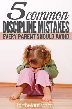 Shepherding our children, including discipline when needed, is an important job. Discipline from our Heavenly Father is proof of how He loves us. We need to discipline our children as well, but do we go about that task with a godly attitude? Here are 5 common discipline mistakes and how you can avoid them.