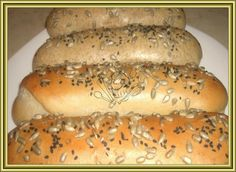 Bread And Pastries, Ciabatta, Bread Baking, Hot Dog Buns, Pizza, Healthy Recipes, Cooking, Breads, Recipe