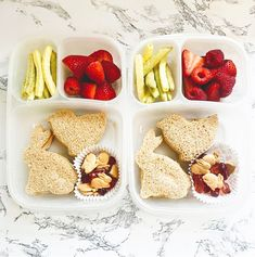 Our original, 3-compartment lunchboxes are just the right size to pack an Easter lunch for some-bunny special! 🐰🐣🌸🌱 Here is what's inside @charcutiesforcuties Lunchbox: 🥪 Chick and bunny-shaped sandwiches 🐇 Bunny graham crackers and gummies 🥕 Veggie straws 🍓 Fresh strawberries + raspberries What's your favorite Easter or springtime activity? 🌤 Easy Lunch Boxes, Box Lunches, Lunch Ideas, Raspberries, Strawberries, Veggie Straws, Easter Lunch, Lunch Containers, School Lunch