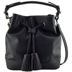 03fbbba60f 88 Taylor Black Tassel Crossbody Bucket Handbag for Women -- You can find  more details by visiting the image link. (This is an affiliate link)