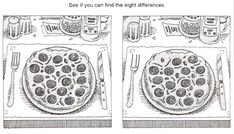 8 Best Images of Printable Adult Find The Difference - Spot the Difference Puzzles Printable, Find Spot the Difference Printable and Free Printable Spot the Difference Puzzles Spot The Difference Printable, Spot The Difference Puzzle, Printable Puzzles, Free Printables, Find The Difference Pictures, Dots Game, Magic Squares, Hidden Pictures, Picture Puzzles