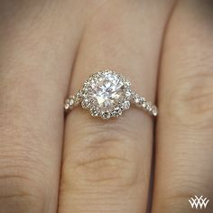 OH WOW $3650 This diamond engagement ring is from the Insignia Collection. It  features 0.60ctw of round brilliant diamond melee (F/G VS) that enhance a round, princess, radiant or a square diamond center.