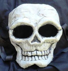 Items similar to Skull paper mache mask on Etsy Paper Mache Mask, Spatzle, Hans Christian, Halloween Kids, Masks, Skull, Crafty, Handmade Gifts, Vintage