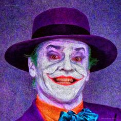 JACK NICHOLSON _ The JOKER   Signed and Numbered Fine by EisnerArt, $65.00
