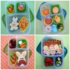 Easter Bento Round-Up in our EasyLunchboxes by Dreams, Schemes, and Bento Themes