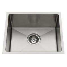 Sink Squareline Everhard 450x390mm Sgl Undermount 73148