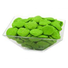 Vindem mere verzi la kilogram, usor prafuite cu zahar :) - de fapt sunt jeleuri cu aroma de mere verzi acoperite cu zahar acrisor la kilogram. Si le recomandam sa fie folosite la petreceri de zile mari!