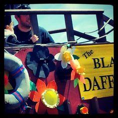 Pirates ship the black daffodil Daff fest