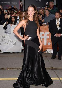 Alicia Vikander - The Danish Girl Premiere at Toronto International Film Festival