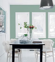The pretty home of Maude Arsenault from The Print Atelier - Nordic Design