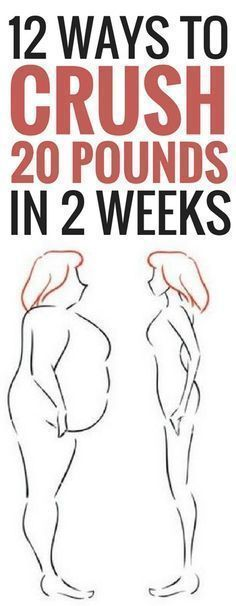 12 Ways To Lose 20 Pounds In 14 Days