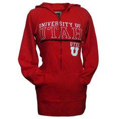University of Utah Fitted Zip Hoodie