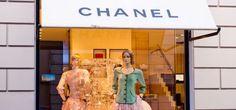 The Chanel Boutique in Milan - Via Sant'Andrea - Photo by pcruciatti - Shutterstock.com