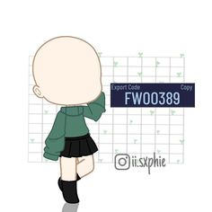 Manga Clothes, Drawing Anime Clothes, Kawaii Clothes, Cute Anime Character, Character Outfits, Club Outfits, Girl Outfits, Club Hairstyles, Club Face
