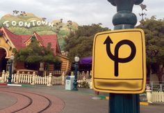 Finish That Disney Parks Sign: Mickey's Toontown at Disneyland Park